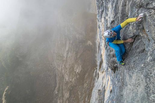 Happy Ledge in Val Trementina, new climb by Rolando Larcher and Nicola Sartori in Paganella