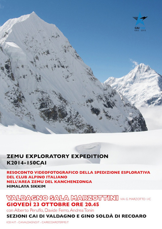K2014-150 CAI - Zemu Exploratory Expedition