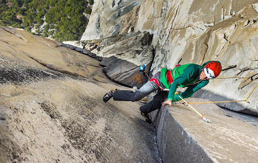 Yosemite: El Capitan climbing action