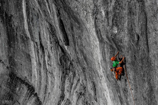 Liberi di scegliere, nuova via di Andrea Polo e Gabriele Gorobey nelle Alpi Giulie