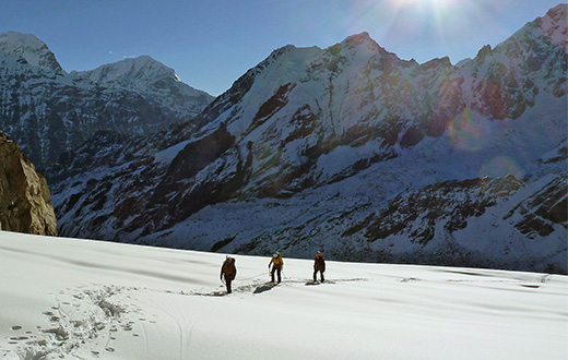 Rolwaling valley in Nepal, a family expedition. By Maurizio Oviglia