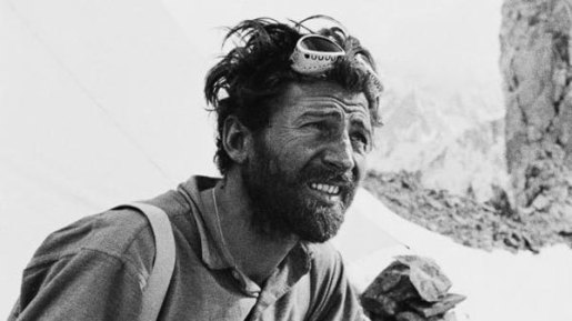 The myths and legends of alpinism: dreaming about Hermann and his bicycle