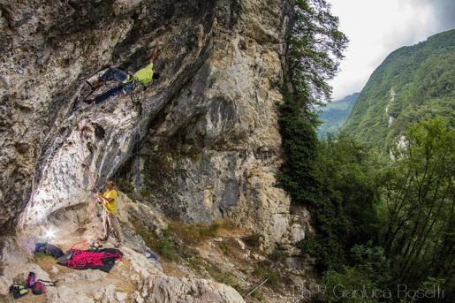 San Liberale, the crag in Italy's Monte Grappa massif. By Marco Savio.
