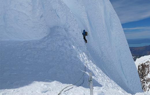 Cerro Torre, Italian climbing action in Patagonia
