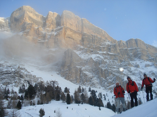 Sas de Dlacia, il villaggio degli alpinisti