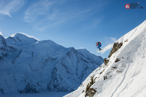 Chamonix success for the Swatch Freeride World Tour by The North Face