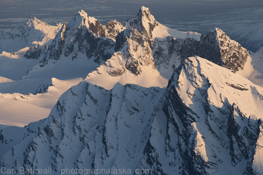 Alaska Range Project by Carl Battreall