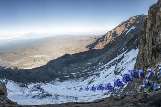 Valery Rozov Kilimangiaro BASE jump