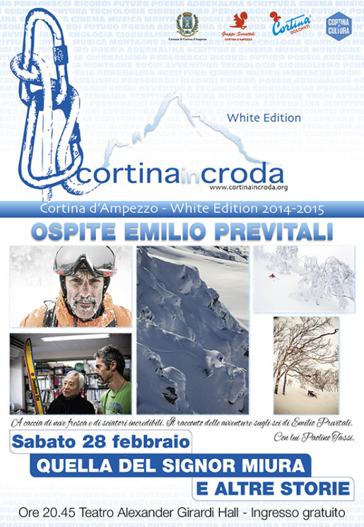 Emilio Previtali a Cortina InCroda White Edition