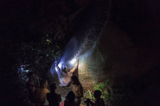 Nicolas Favresse and the magic world of night climbing