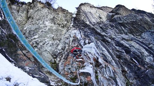 Hansjörg Auer and Gerhard Fiegl climb new Ötztal mixed route