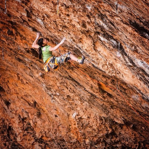 Ashima Shiraishi sends second 9a/+ at Santa Linya