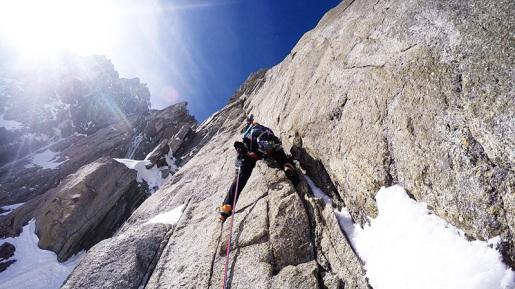 Monte Maudit, nuova via da Matt Helliker e Jon Bracey