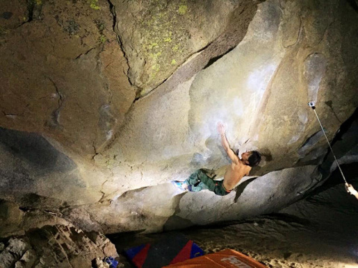 Sachi Amma boulders 8B+ at Bishop
