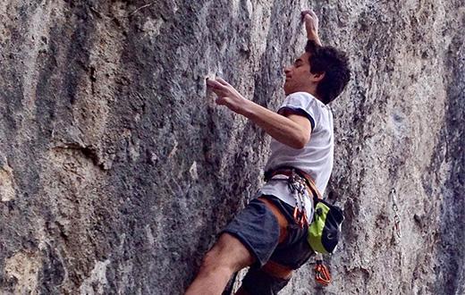 Matteo Menardi, primo 9a a 16 anni a Gemona