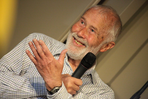 Sir Chris Bonington at Courmayeur's Passione Verticale 2016