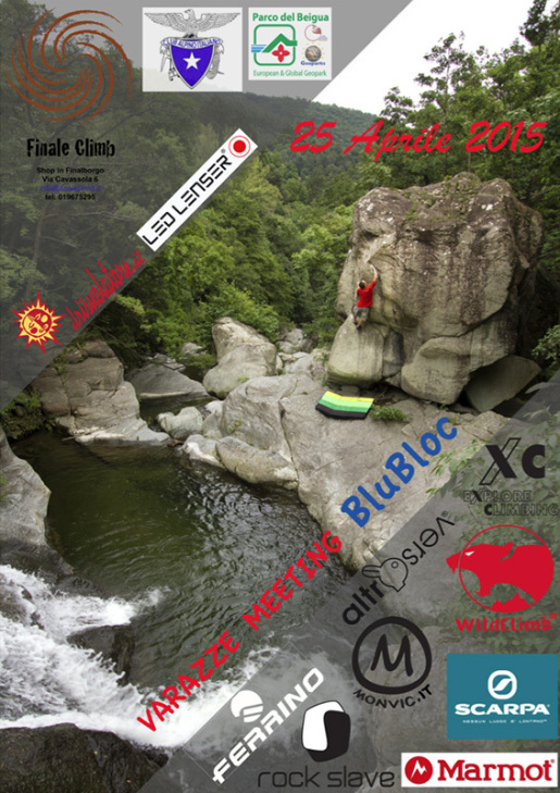 Varazze BluBloc 2015, the bouldering meeting in Liguria