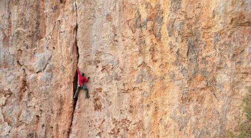 Ulassai e l'arrampicata in fessura a Su Sussiu in Sardegna