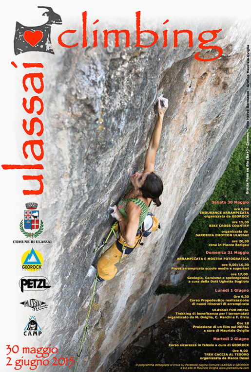 I Love Climbing Ulassai, il meeting di arrampicata in Sardegna