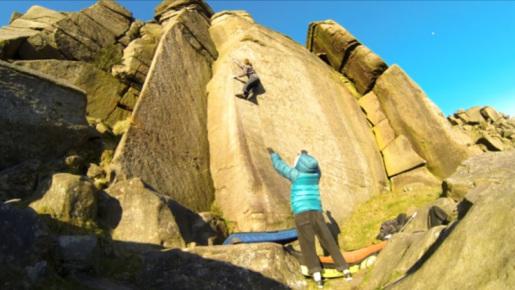 Hard Gritstone Bouldering with Benjamin Linné Ryn