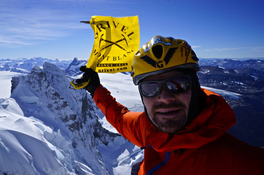 Markus Pucher makes first ascent of Marconi Sur West Face in Patagonia