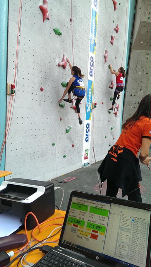 Ad Arco i Campionati Italiani Giovanili d'arrampicata sportiva