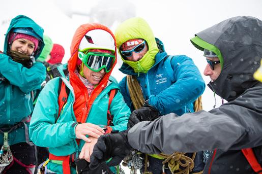 Arc'teryx Alpine Academy 2015 sul Monte Bianco