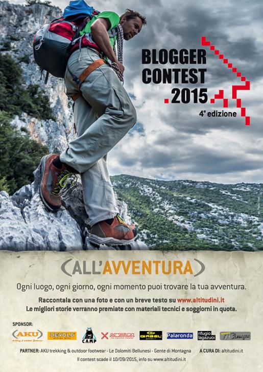 Blogger Contest 2015 - all'avventura