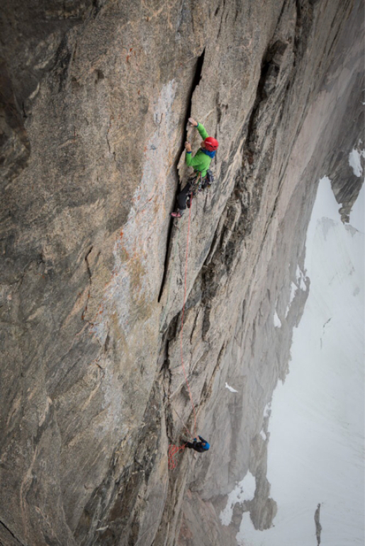 Greenland Mirror Wall success for Leo Houlding & Co