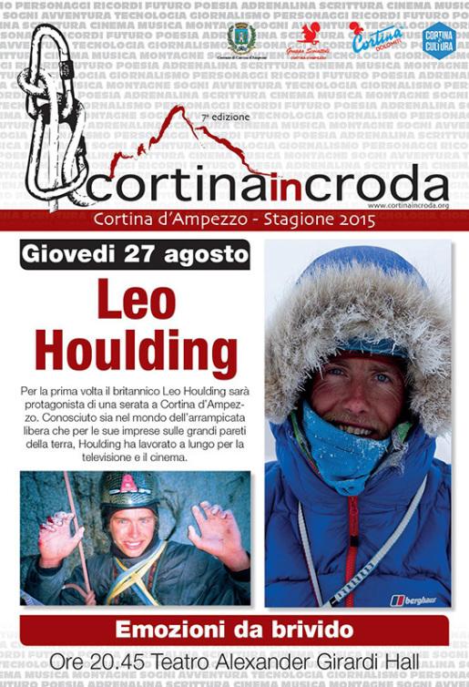 Leo Houlding ospite di Cortina InCroda