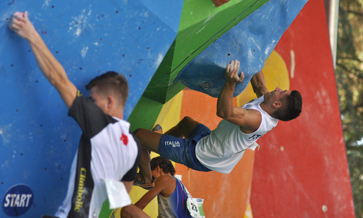 IFSC World Youth Championships, the male Boulder report