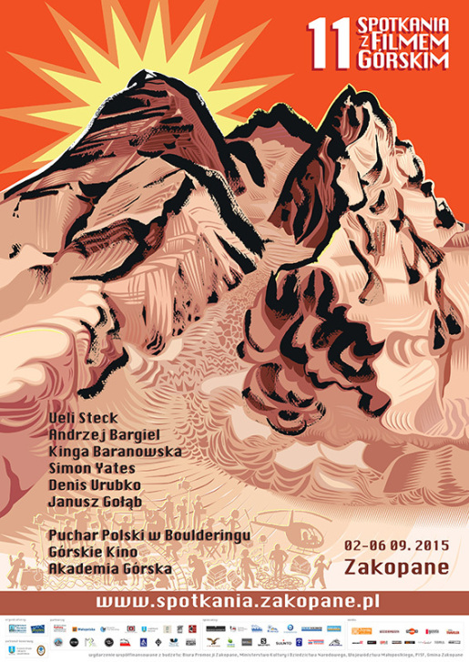 Spotkania Mountain Film Festival at Zakopane in Poland