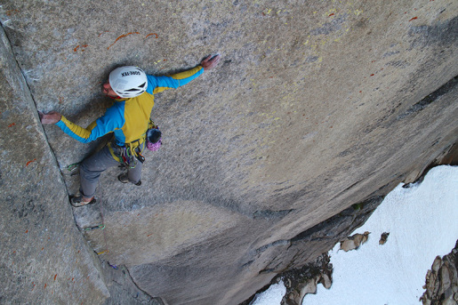 British climbers free Disco 2000 on Blåmman in Norway