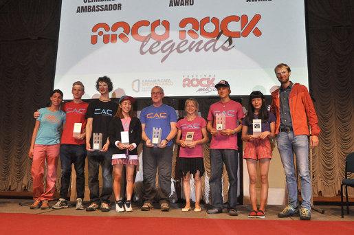Arco Rock Legends 2015, premiati Alexander Megos, Adam Ondra e John Ellison