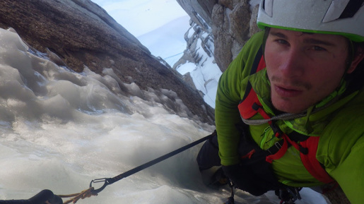 Marc-André Leclerc free solo of the Tomahawk - Excocet routes in Patagonia