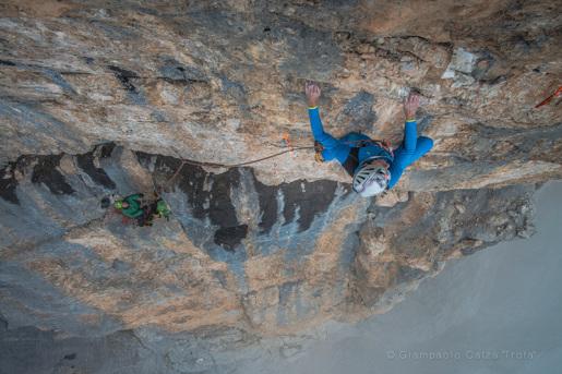 Big new rock climb on Monte Fibbion in the Brenta Dolomites