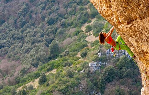 Vacanze di Natale al Sud e l'arrampicata in Puglia