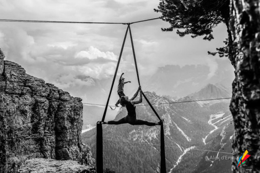 Highline Meeting Monte Piana 2015 in video