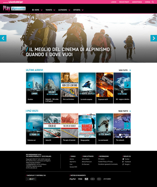 Play Alpinismo il canale video firmato La Gazzetta dello Sport