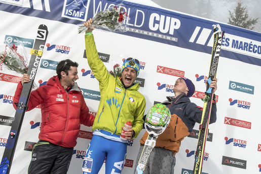 Michele Boscacci and Laetitia Roux new European Ski Mountaineering Champions