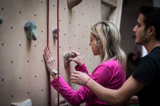ConTatto Verticale 2019, a Torino la giornata dell'arrampicata per non vedenti