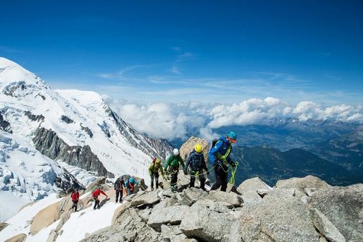 Arc'teryx Alpine Academy 2016 at Chamonix
