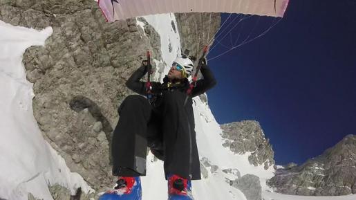 Brenta Dolomites Vallazza speed riding by Luca Tamburini
