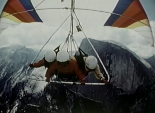 Half Dome 1977 and the pioneering flight in Yosemite