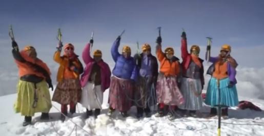 Bolivian Cholitas climb the Andes to conquer emancipation
