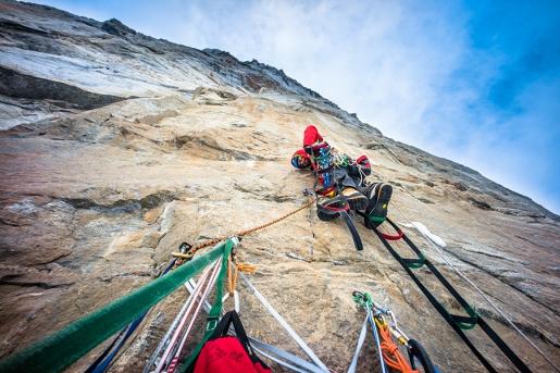 Haywire, the short film by Cheyne Lempe big wall climbing on Baffin Island