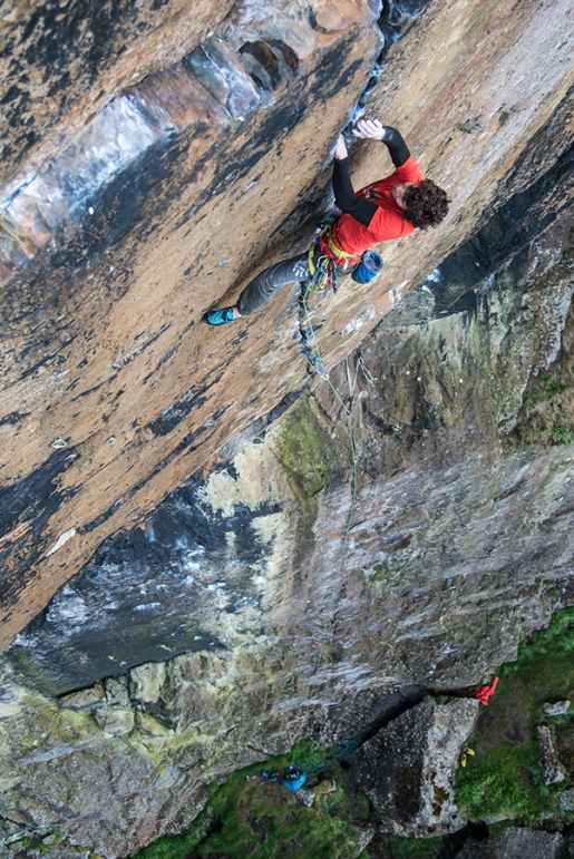 Video: Jacopo Larcher on Rhapsody, the great trad climb in Scotland