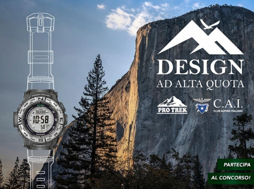 Casio PRO TREK, CAI ed il concorso Design ad Alta Quota