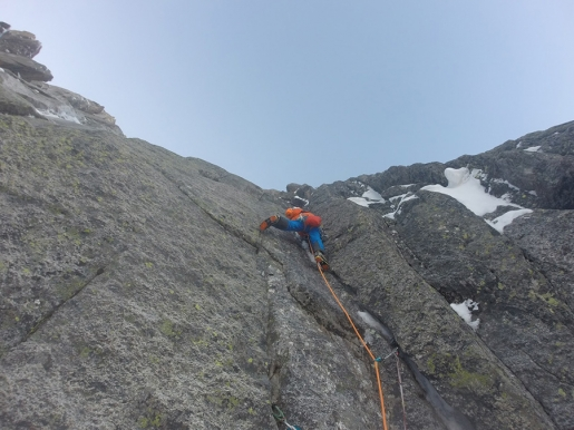 Universal Studio, new mixed climb on Rognon du Plan (Mont Blanc) by Jeff Mercier and Simon Chatelan