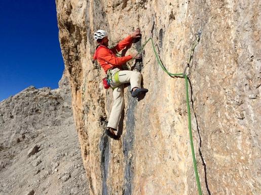 Traverso al Cielo, Simon Kehrer and Christoph Hainz add new rock climb up Peitlerkofel in the Dolomites